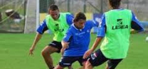 Pescara Calcio in allenamento