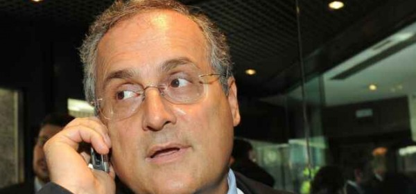 Il presidente della Lazio, Claudio Lotito