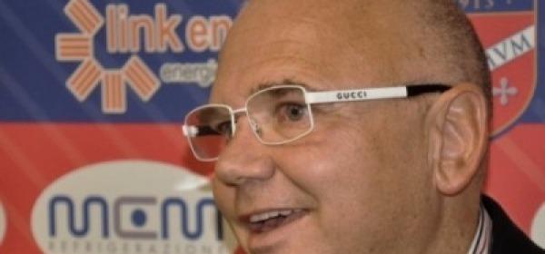 Il presidente del Teramo, Luciano Campitelli