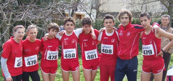 I ragazzi dell'Atletica Gran Sasso