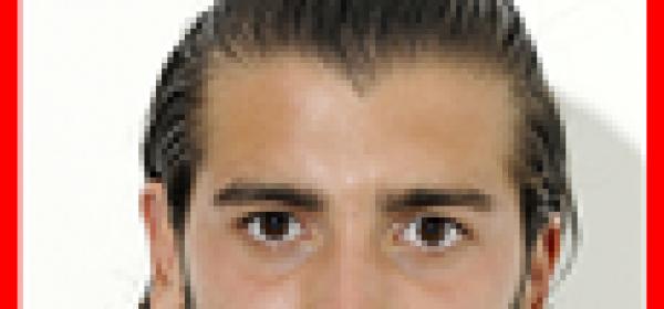Il centrocampista biancorosso Cosimo Damiano Laboragine