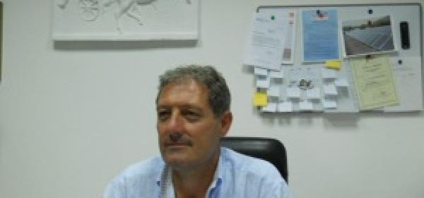 Il presidente Maurizio Colantoni, aggredito insieme ad altri dirigenti dell' Amiternina