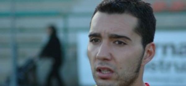 L'attaccante del Teramo, Andrea Bucchi