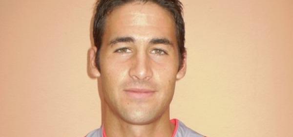 Il centrocampista del Teramo, Michele Valentini